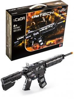 Конструктор Cada «Штурмовая винтовка M4A1» 621 деталь / C81005W (стреляет)