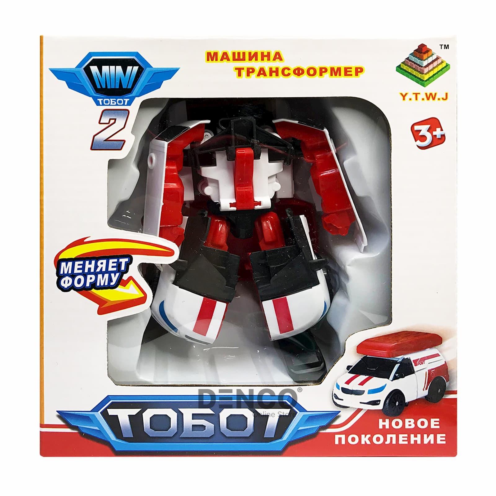Мини Тобот 2 Трансформер V 15 см.