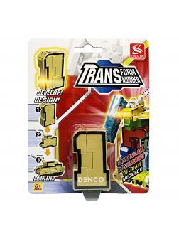 Цифра-Трансформер 1 «Танк» 5 см.