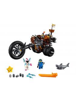 Конструктор Lp «Хеви-метал Мотоцикл Железной бороды» 45011 (Movie 2 70834) 852 детали