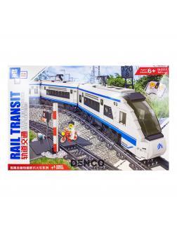 Конструктор Zhe Gao «Скоростной поезд» на аккумуляторе QL0310 (City) 841 деталь