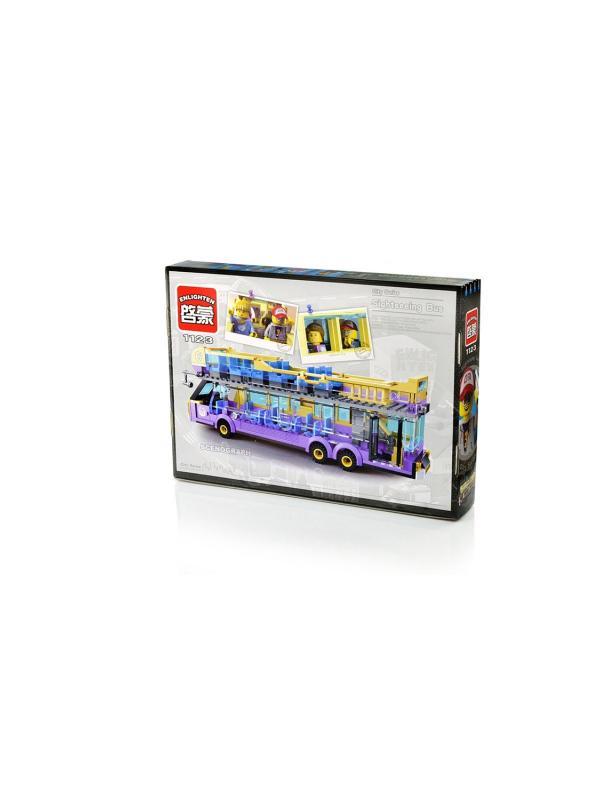 Конструктор Enlighten «Экскурсионный автобус» 1123 / 481 деталей