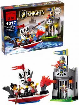 Конструктор Enlighten «Налет на темницу» 1017 Knights Castle Series / 111 деталей