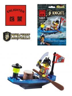 Конструктор Enlighten «Транспортный плот» 1007, 30 деталей Brick