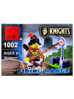 Конструктор Enlighten «Полигон Лучников» 1002 Knights Castle Series / 16 деталей