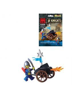Конструктор Enlighten «Огненная колесница», 27 деталей Brick
