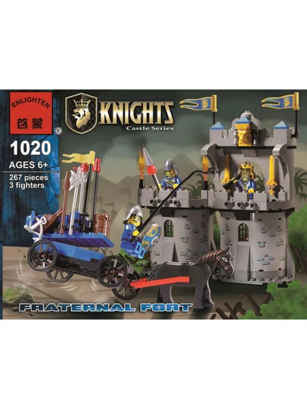 Конструктор Enlighten «Братский форт», 267 деталей Brick