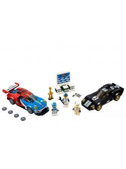 Конструктор Lp «2016 Ford GT & Ford GT40 1966» 28004 (Speed Champions 75881) / 395 деталей