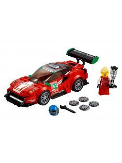 Конструктор Lp Racings «Ferrari 488 GT3 Scuderia Corsa» 28016 (Speed Champions 75886) 201 деталь