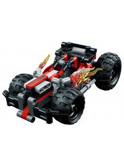 Конструктор Lp «Красный гоночный автомобиль» 20073 (Technic 42073) / 155 деталей