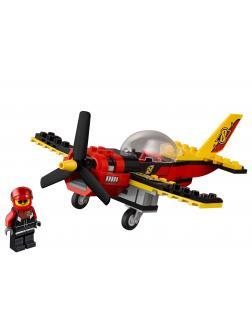 Конструктор «Гоночный самолёт» 10643 (City 60144) / 94 детали