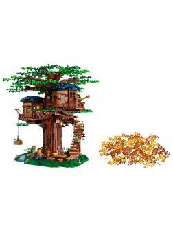 Конструктор Ideas «Дом на дереве» 6007 (Ideas 21318) 3117 деталей