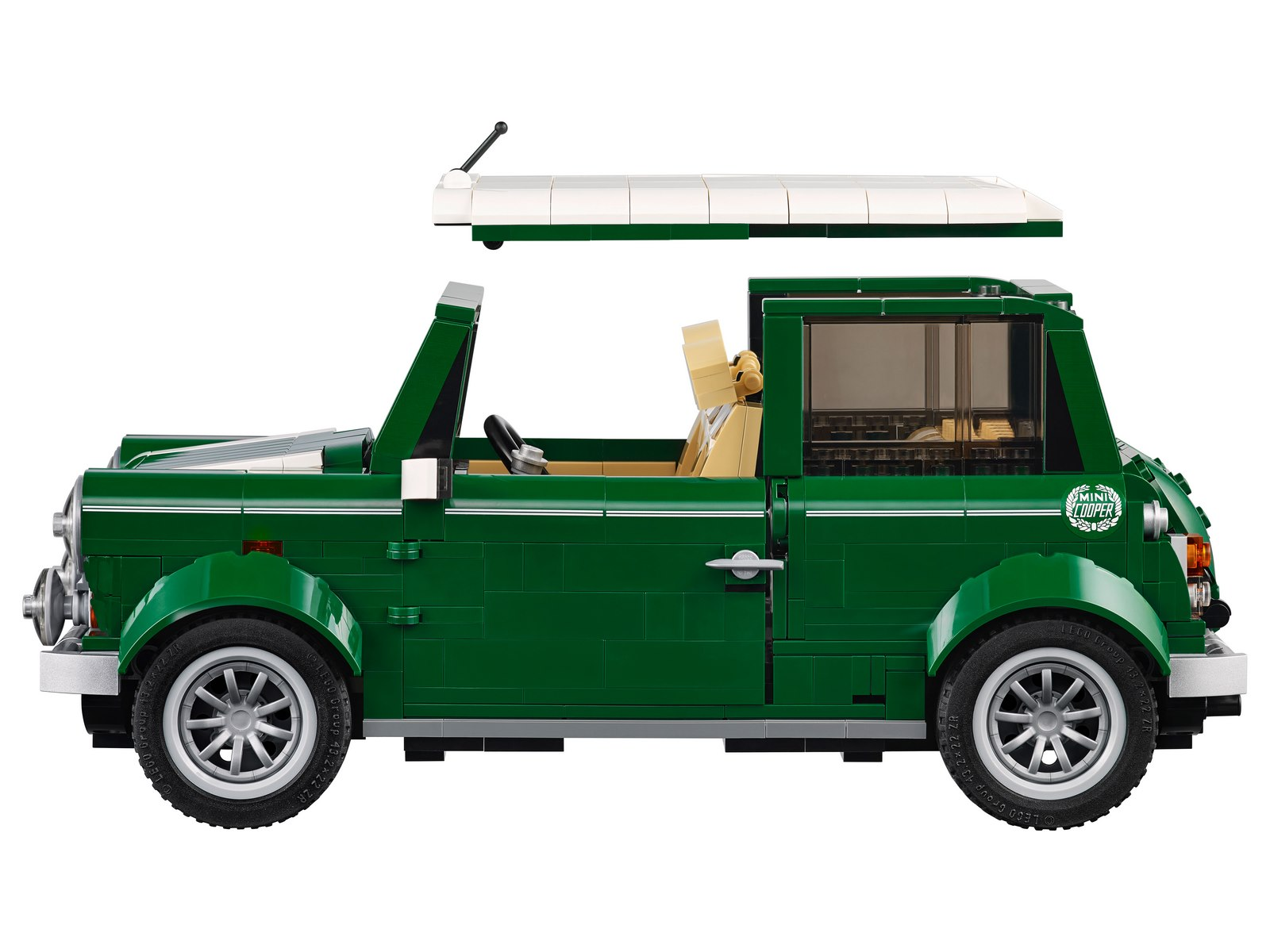 Конструктор Lp «MINI Cooper» 21002 (Creator Expert 10242) / 1108 деталей