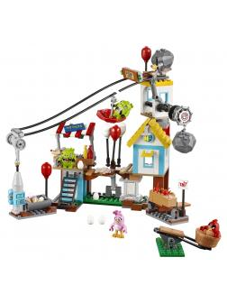 Конструктор Bl «Разгром Свинограда» 10508 (Angry Birds 75824) 405 деталей