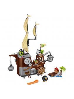 Конструктор Bl «Пиратский корабль свинок» 10509 (Angry Birds 75825) 637 деталей