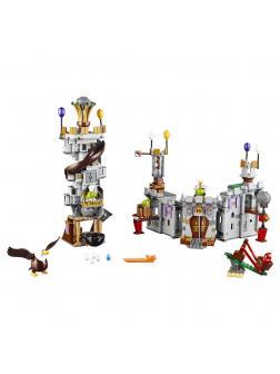 Конструктор Bl «Замок короля свинок» 10510 (Angry Birds 75826) 879 деталей