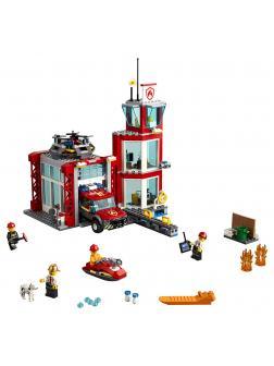 Конструктор Ll «Пожарное депо» 28049 (City 60215) / 537 деталей
