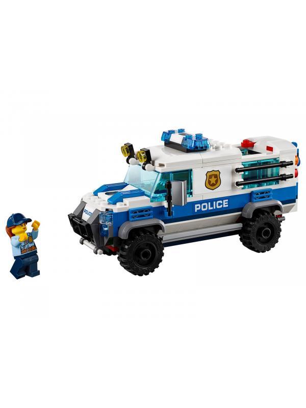 Конструктор Lari «Воздушная полиция: Кража бриллиантов» 11209 (City 60209) / 424 детали
