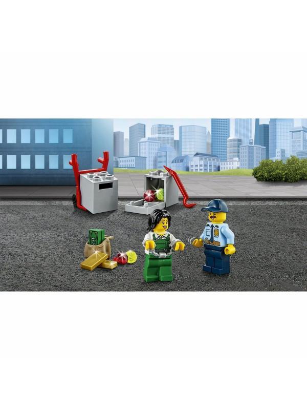 Конструктор Lari «Ограбление инкассаторской машины» 10654 (City 60142) / 150 деталей