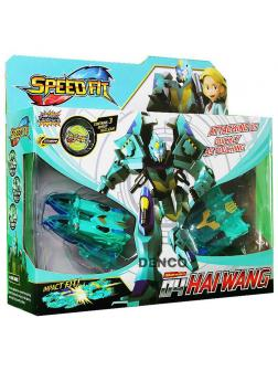Трансформер «Синий Робот» Speed Fit