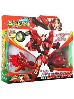 Трансформер «Красный Робот» Speed Fit