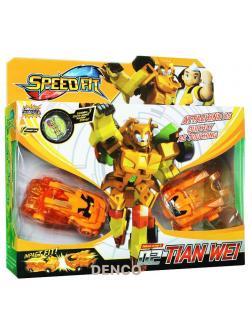 Трансформер 2 машинки и «Orange Робот» Speed Fit