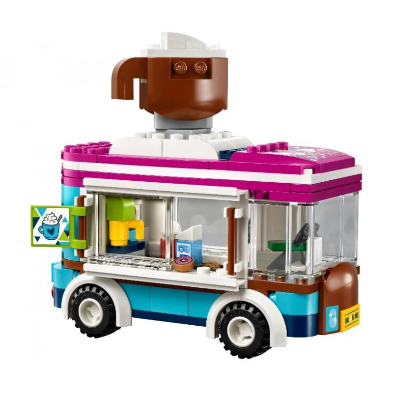 Конструктор Lp «Горнолыжный курорт: Фургончик по продаже горячего шоколада» 01048 (Френдс 41319) / 260 деталей