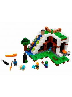 Конструктор Lp «База на водопаде» 18028 (Minecraft 21134) / 568 деталей