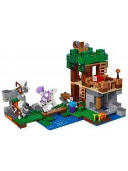 Конструктор Lp «Нападение армии скелетов» 18041 (Minecraft 21146) / 512 деталей