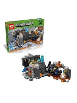 Конструктор Lp «Портал в Край» 18002 (Minecraft 21124) / 469 деталей