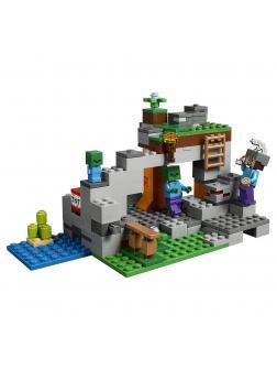 Конструктор Lp «Пещера зомби» 18036 (Minecraft 21141) 270 деталей
