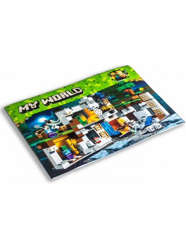 Конструктор Lari «Приключения в шахтах» 10990 (Minecraft 21147) / 666 деталей