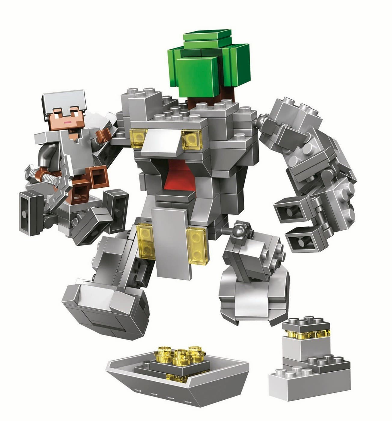 Конструктор Bl «Робот Титан» 11135 (Minecraft) / 221 деталь