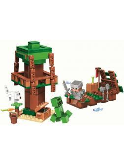 Конструктор Bl Minecraft «Путешествие к острову сокровищ на корабле» 11131 / 161 деталь