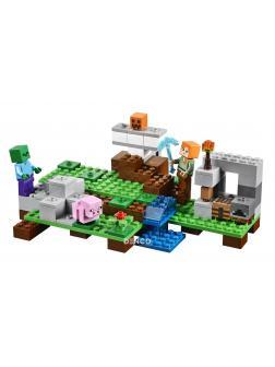 Конструктор Bl «Железный Голем» 10468 (Minecraft 21123) / 220 деталей