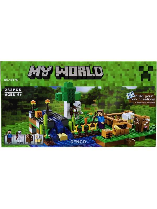 Конструктор «Ферма» 10175 (Minecraft 21114) / 262 детали