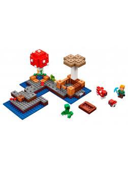 Конструктор Bl «Грибной остров» 10619 (Minecraft 21129) / 253 детали