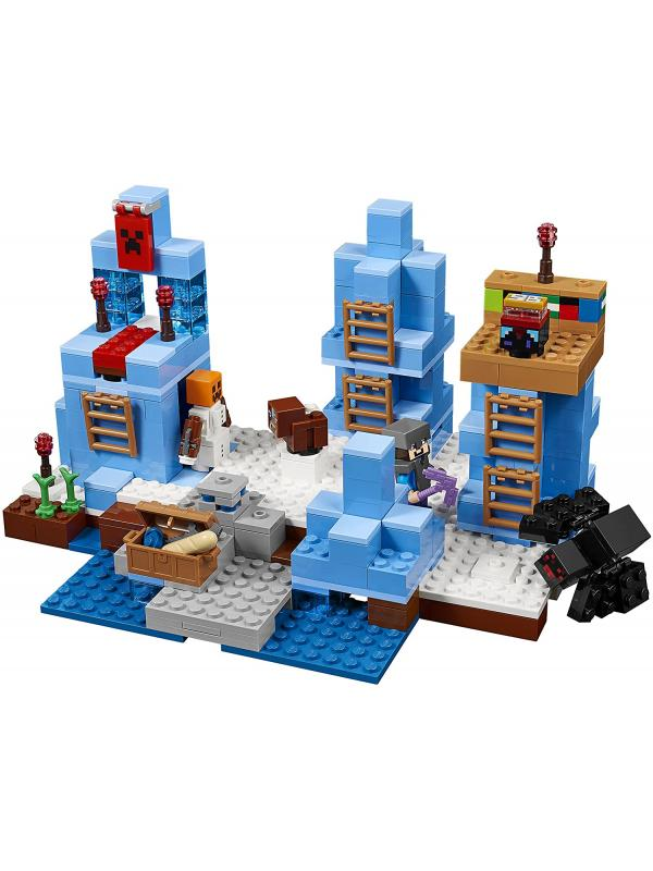 Конструктор«Ледяные шипы» 10621 (Minecraft 21131) / 460 деталей