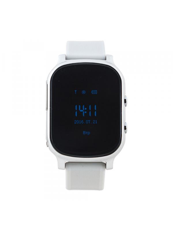 Детские Умные часы Smart Baby Whatch T58 / Серебряный