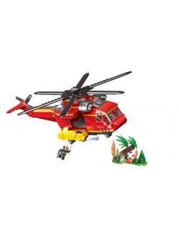 Конструктор XINGBAO «Пожарный вертолет» XB-14004, 761 деталь