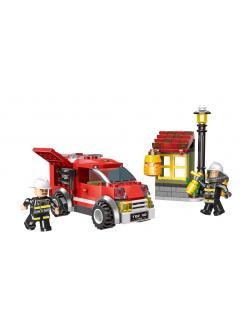 Конструктор XINGBAO «Пожарная бригада экспресс» XB-14001, 218 деталей