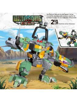Конструктор PRCK «Робот Динозавр» (Jurassic World) QL1709, 362 детали