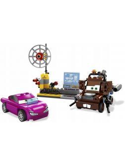 Конструктор Bl «Шпионский штаб Мэтра» 10007 (Cars 2 8424) 112 деталей