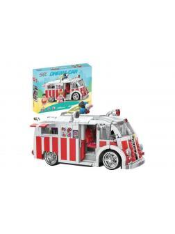 Конструктор XINGBAO «Фургон с мороженым» xb-08004, 1000 деталей