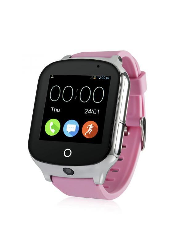 Детские Умные часы T100 / Розовые
