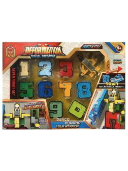 Трансботы Deformation Digital Squadron  (10 цифр в 1 наборе)