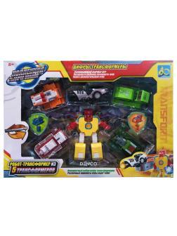 Робот-Трансформер XL из 5 Трансформеров (6-0)