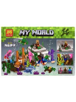 Конструктор Ll «Подводный мир» 33241 (Minecraft) / 339 деталей