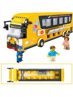 Конструктор ZHE GAO «Туристический автобус» QL0951, 485 деталей