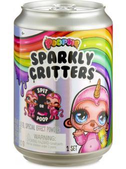 Игрушка-сюрприз в банке «Poopsie Sparkly Critters» 1 сезон